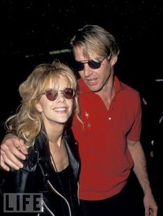 Dennis Quaid & Meg Ryan, 1987 Before Divorce