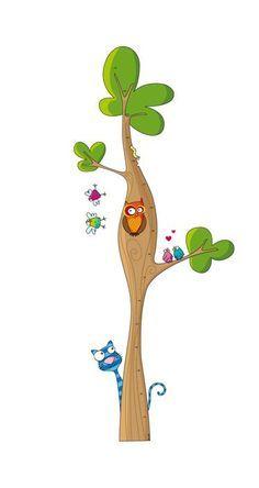 sticker medidor de tamanho a minha árvore