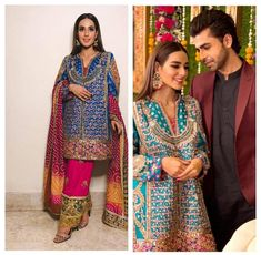 Pakistani Party Wear Dresses, Bridal Mehndi Dresses, Pakistani Wedding Dresses, Pakistani Outfits, Indian Dresses, Indian Outfits, Frock Design, Pakistani Fashion Casual, Indian Fashion