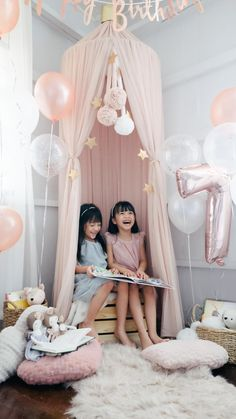 Quarantine birthday ideas for your little girls, twin birthday party quarantine Twin Birthday Parties, Birthday Ideas, End Of An Era, Chasing Dreams, Rite Of Passage, And Just Like That, Hanging Chair, Little Girls, Toddler Bed