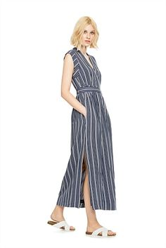 Country Road V-Neck dress for cruise