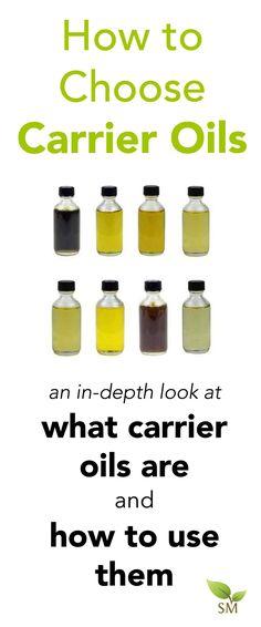 Los aceites del portador son una necesidad para hacer sus propios naturales del cuerpo y cuidado de la piel productos, pero ¿saben cómo utilizarlos?  Echa un vistazo a este post en profundidad sobre cómo elegir los aceites del portador.