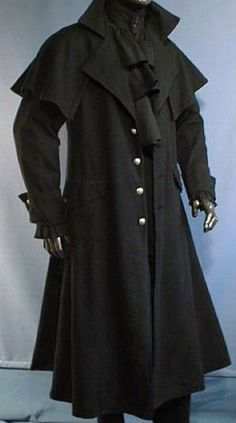 Top Gothic Fashion Tips To Keep You In Style. As trends change, and you age, be willing to alter your style so that you can always look your best. Consistently using good gothic fashion sense can help Larp Fashion, Steampunk Fashion, Gothic Fashion, Victorian Fashion, Mens Fashion, Fashion Outfits, Fashion Clothes, Style Fashion, Fashion Ideas