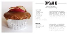 Recipe: Apple Cupcakes with Caramel Frosting  http://www.electricmaninc.com/