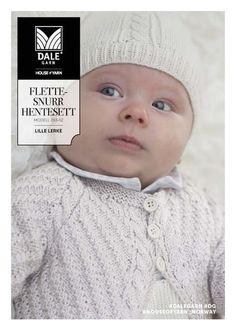Så har vi lagt to nye opskriftshæfter under gratis opskrifter. Skønne babysæt strikket i Dale lille Lerke - et meget blødt og lækkert garn, specielt egnet til b