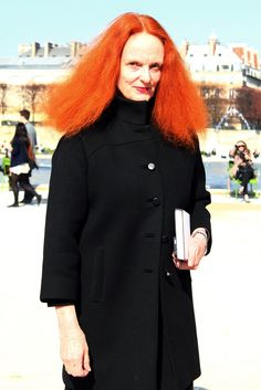 Please, please, pleasepleaseplease... please can I be as beautiful, gutsy, strong, smart, and as put together as Grace Coddington in 30 years?