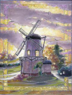Dutch Windmill by Paul C Dennis