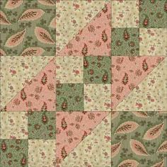 Road to California Quilt Block Pattern - Free Quilt Block Patterns