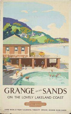 Grange over Sands on the lovely lakeland coast - British Railways - 1949 - (Frank Sherwin) -