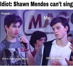 That pic of Nash and Shawn describes the situation all