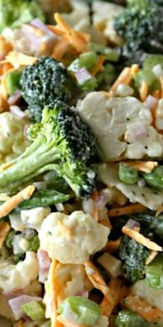 Fresh Spring Broccoli Salad ~ This homemade version of a store bought deli classic will have you asking for more! Perfect for lunches, or summer picnics, give this healthy version a try today!