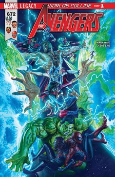 Avengers #672 - Worlds Collide: Part One