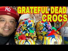 Grateful Dead Chinatown Market Croc Collab unboxing CROCS Collection #Crocs #Crocsideas #gratefuldead Grateful Dead, Crocs, Sneakers Fashion, Entertainment, Marketing, Shopping, Collection, Entertaining