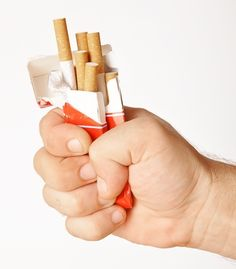Stop smoking for acne
