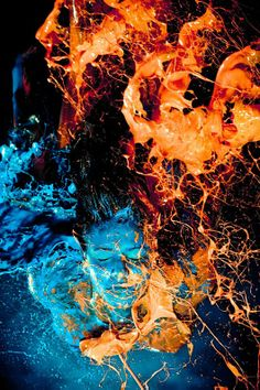Amazing paint throw pictures
