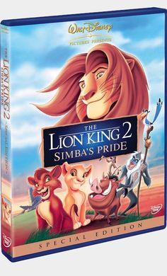 Watch The Lion King Simba's Pride DVD and Movie Online Streaming Disney Pixar, Dvd Disney, Disney Films, Le Roi Lion 1, Le Roi Lion Film, Watch The Lion King, Lion King 2, Streaming Movies, Hd Movies