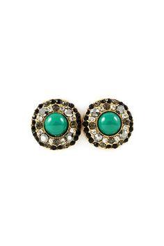 Emily Earrings in Black Diamond