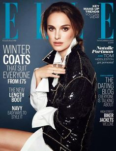 Natalie Portman by Kai Z Feng for Elle UK Nov 2013