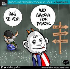 "#ElCartonDelDia para @PurakuraWeb""NO AHORA POR FAVOR"" #OmarBravo @chivas #Chivas"