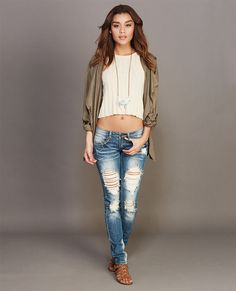 Ripped & Rugged Skinny Jeans
