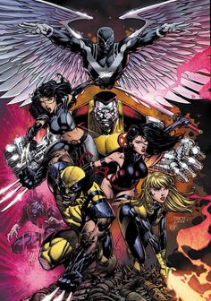 """The Uncanny X-Men """"Volume 1, Number 523"""" Cover Art By David Finch (June, 2010)"""