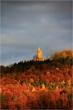 Kreis Göppingen Burg Staufeneck (Salach) von jery Homeland, Monument Valley, Most Beautiful, Scenery, Castle, Germany, Country Roads, Europe, Display