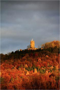 Kreis Göppingen Burg Staufeneck (Salach)