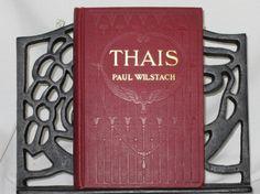 Thais by Paul Wilstach First Edition 1911 by Alveta on Etsy, $25.00