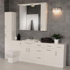 Windsor Toilet & Basin Furniture Bathroom Suite