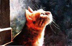 acuarelas watercolor cat - Buscar con Google