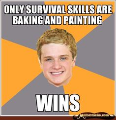 """Almost as good as """"How to Win the Hunger Games (Twice) Without Really Trying"""""""