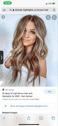 Blondish Brown Hair, Blonde Light Brown Hair, Sandy Brown Hair, Sandy Blonde Hair, Brown Hair With Blonde Highlights, Light Hair, Hair Highlights, Brownish Blonde Hair Color, Hair Doo