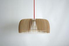 Lámpara de encastre para armar Plick, Modelo Polansky. Color de cable a elección
