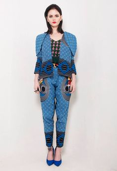 A modern take on African fashion from Chichia.