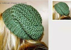 Free Crochet Pattern Sundance Slouch Hat Pattern