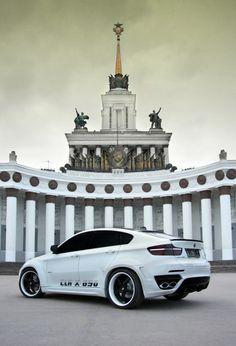 BMW CLR X 650 Lumma Design white