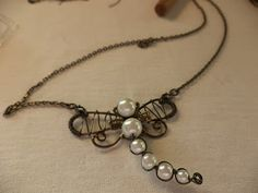 ++++++++++++++++++++She+Is:+Wire+Wrap+Dragonfly+Pendant+Tutorial