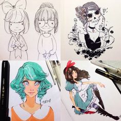 Open for Commissions! Sketches, ink drawings, colored bust and full body! DM or email ... | Use Instagram online! Websta is the Best Instagram Web Viewer!