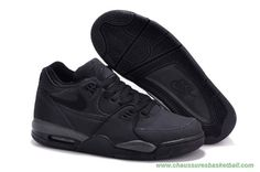 finest selection 8e25d 6fee4 chaussures de basket pas cher Leather All Noir Nike Air Flight 89