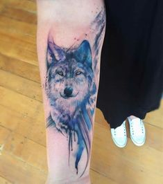Wolf tattoo: meaning and interesting ideas - tattoo - . - Wolf tattoo: meaning and interesting ideas – tattoo – - Wolf Tattoo Forearm, Wolf Tattoo Sleeve, Sleeve Tattoos, Tattoo Wolf, Tribal Wolf Tattoos, Tattoo Ribs, Eagle Tattoos, Tattoo Hand, Aquarell Wolf Tattoo