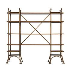 Arrondissement-Eiffel Etagere - Designed by Stanley Furniture. Sold at L.A Waters in Statesboro, GA