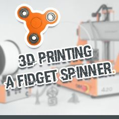 How to 3D printing a fidget spinner? Watch our video on YouTube! #stepcraft #cnc #diy #3d #printing #fidgetspinner #thinkitmakeit