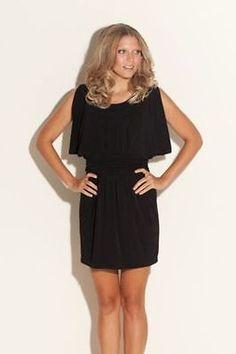 GUESS WOMEN'S OLIVIA BLACK DRESS  SIZE 3 BRAND NEW