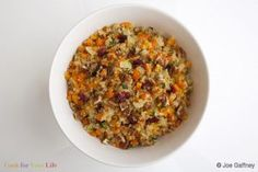 Warm Colorful Quinoa Salad - Cook For Your Life- anti-cancer recipes
