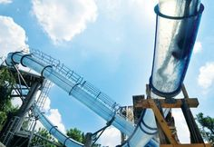 Discover the top twenty most amazing water slides from around the globe. Are you brave enough to take the plunge on any of these water chutes? Oh The Places You'll Go, Places To Travel, Places To Visit, Dream Vacations, Vacation Spots, Vacation Ideas, Family Vacations, Midwest Vacations, Vacation Places