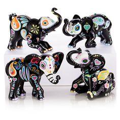 909109 - Blake Jensen Soulful Spirits Elephant Figurine Co…