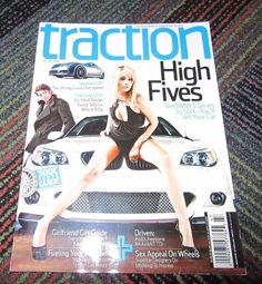 TRACTION MAGAZINE NOV. / DEC. 2008, LIFE IN SPORTS SEDAN OR COUPE CAR MAGAZINE