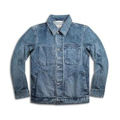 A classic piece, the Supply jacket from Rogue Territory now comes in an easy-to-wear aged finish. The brand set out to showcase the unique fading. Denim Button Up, Button Up Shirts, Japanese Selvedge Denim, Onitsuka Tiger Mexico 66, Tr 4, Reigning Champ, Rogues, Pullover, River