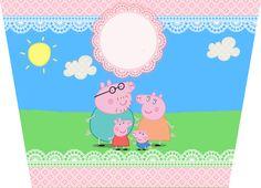 Montando minha festa: Kit digital gratuito para imprimir Peppa Pig