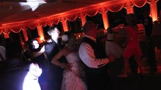 The bride and groom joining the conga line!! | We love our clients! | #unforgettabledjs